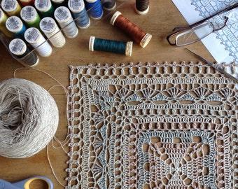Doily Table Linen Placemat Home Decoration Centerpiece Tabletop Decor Wedding Decor Boho Shabby chic