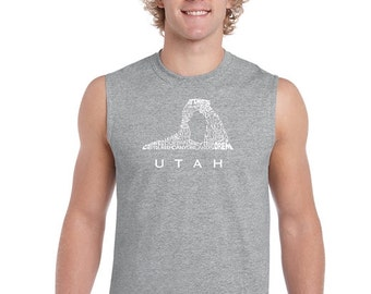Men's Sleeveless Shirt - Utah