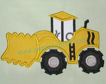 Instant Download - Scraper Truck Embroidery Applique Designs - Scraper Truck digitized embroidery applique design 4x4, 5x7, and 6x10 hoops