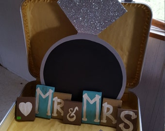 Chalkboard Wedding Ring