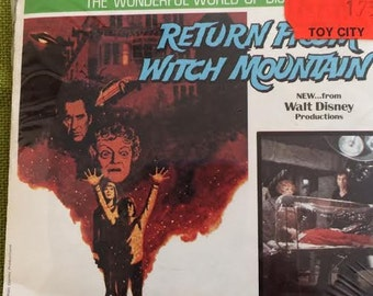 View-Master Reels Walt Disney's Return To Witch Mountain Unopened in Original Package GAF ViewMaster Reels J25 Vintage Disney