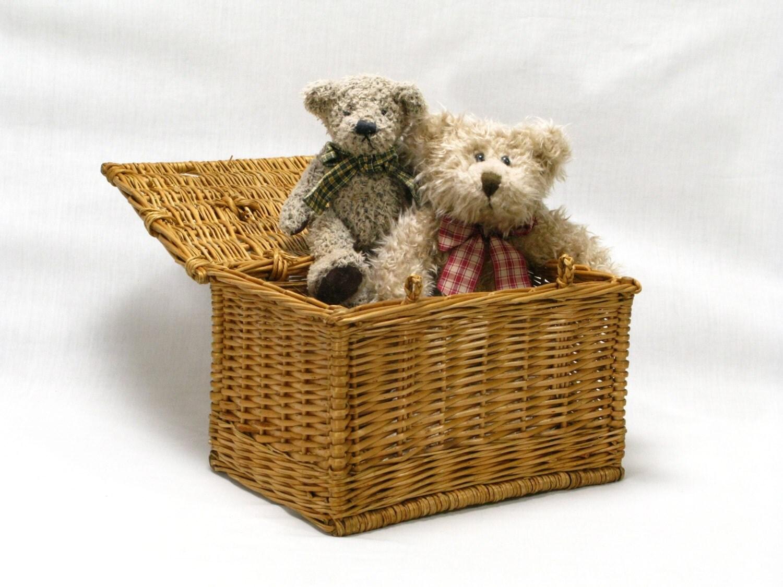 small wicker basket french wicker basket storage basket. Black Bedroom Furniture Sets. Home Design Ideas