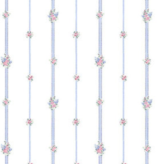 """Dollhouse Miniature Wallpaper, """"Angel Baby"""", Scale One Inch"""