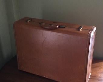 Vintage  Samsonite Suitcase Photo Prop