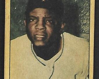 Super Rare new just in 1952 Berk Ross Willie Mays Rookie incredible looking card