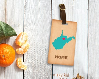 Pick Your State Personalized Luggage Tag