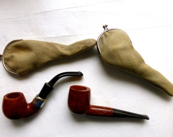 Two Quality Vintage Smoking Pipes  NOW SOLD