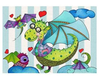 Dragon Fly - Popeline