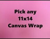 11x14 Canvas Wrap Photograph, Canvas Wrap, Canvas Wrap Photo, 11x14, Photography