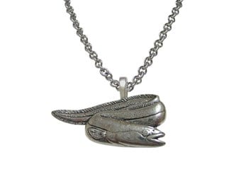 Eel Fish Pendant Necklace
