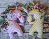 Quirky Unicorn Stuffed toy PATTERN