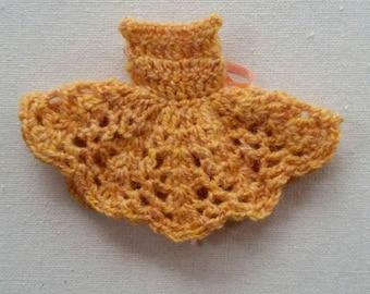 Middie Blythe Dress - Marigold Wool.