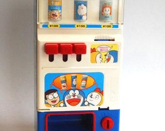 Vintage Doraemon Vending Machine Toy