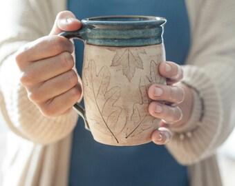 Coffee Lover Coffee Mug - Handmade Mug - Gift for Her - Gift for Him