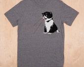 Laser Kitten Adult Unisex Tee-Shirt