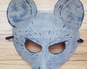 Rat mask, rat costume