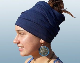 Blue Head Wrap