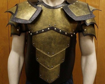 Leather Armor Harbinger Chest, Back, and Shoulders
