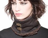 On sale -50% Brown neck warmer