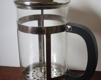 Chrome and Glass Coffee Press French Coffee Press Primula Cafe Coffee