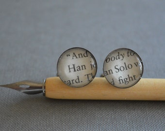 Han Solo Star Wars Cufflinks