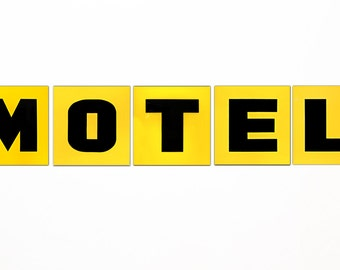 1960s Motel Sign Letters