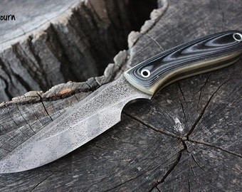 """Handmade FOF """"Sojourn"""" working, hunting, edc and survival knife"""
