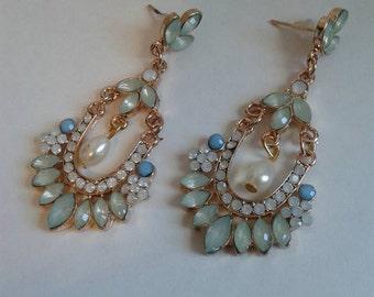 Flapper earrings 1920s jewelry gatsby jewelry