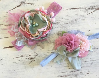 Baby Girl Headband- Baby Headband- M2M Matilda Jane Headband- Newborn Headband- Infant Headband- Couture Headband