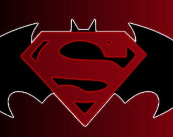 Batman vs Superman SVG Cut file for Cricut and Silhouette