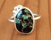 Reserved Listin For Kristin Campo Fria Tirquoise ring size 6 1/4