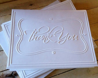 Thank You Handmade Greeting Cards Set
