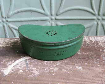 Minnow bucket etsy for Fishing caddy bucket
