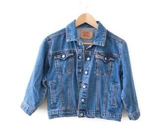 Vintage Womens Extra Small Levis Denim Jean Jacket