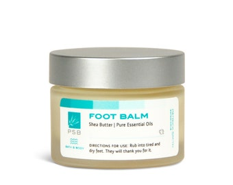 Foot Balm - 1.3 oz - Cruelty-free foot care, certified by Leaping Bunny