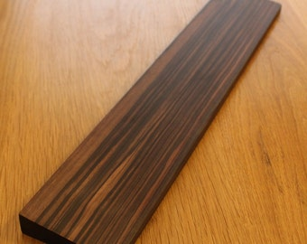 Keyboard Wrist Rest - ebony wood