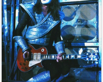 KISS Ace Frehley Live 24 x 34.78 Alive II Era Reproduction Poster - Kiss Band Kiss Collectibles Gift Idea Poster Retro Pintrest kiss76