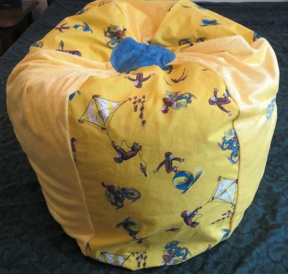 Items similar to CURIOUS GEORGE Bean Bag Chair