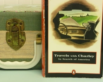 Vintage Travels with Charley, John STEINBECK, In Search of America - Paperback Book, Travelogue