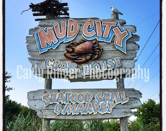LBI: Mud City Tile Coaster