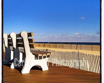 Shore - Boardwalk Bench Tile Coaster