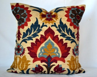 sofa Pillow throw pillow cushion cover waverly santa maria pillow cover floral design accent pillow