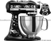 Vader/Skywalker Decal Kit for your KitchenAid Stand Mixer - Star Wars Inspired