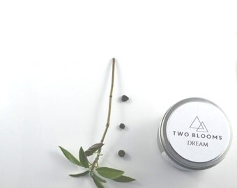Natural Dream Soy Wax Candle, Travel Candle, Clary Sage Juniper Berry Candle, Victoria BC, Vancouver Island Canada