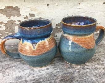 Set of Two: Sunrise Mugs