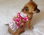 Small Dog Harness, Small Dog Vest, Dog Harness, Dog Vest, Made to Order, Toy Dog Vest, Toy Dog Harness, Teacup Dog Harness