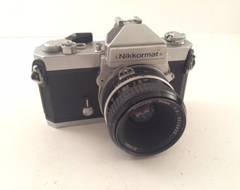 Nikon FT2 35mm Film Camera with Nikon 50mm Lens