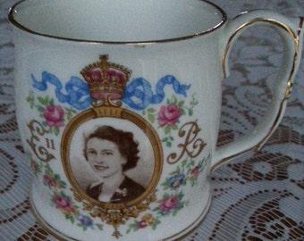 Queen Elizabeth ll Coronation Mug 1953