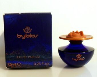 Vintage 1990s Byblos Pour Femme 0.25 oz Eau de Parfum Miniature Mini PERFUME