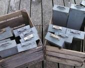 Vintage industrial metal drawer , gray metal drawer , vintage file drawer , industrial parts drawer , industrial decor